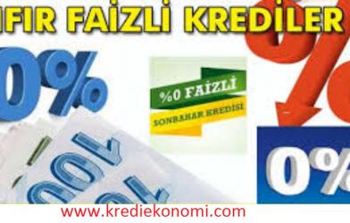 Faizsiz Kredi Veren Banka Var mı