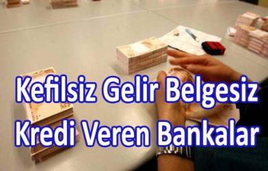 Kefilsiz Şartsız Kredi İstanbul